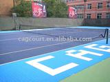 Interlocking Tennis court flooring material