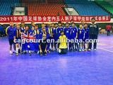 Indoor outdoor interlocking Futsal court flooring materials
