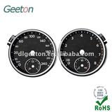 Double Dial 3D PC Auto Dashboard For High-end Cars