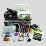 TOP 2 Machine Guns Grips Inks Needles Power Set Equipment Supplies Tattoo Kit