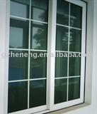 High quality PVC sliding Window with grille