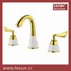 Hot sale dual handle brass basin tap
