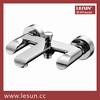 33387CP Dual handle brass body bath shower mixer