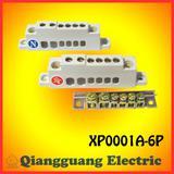 Terminal block of XP0001A-6P/Copper ground bar