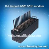 16 channel gsm modem for sending and receiving messages