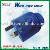 Adapter socket adaptor plug-163A