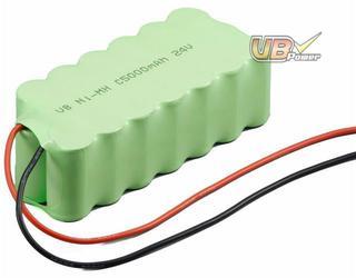 NiMH Battery Pack: VB power 24V C Size 5000mAh E-bike, Communication, Power Stations, Boom Boxes, Lighting