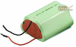 NiMH Battery Pack: VB power 12V D Size 8000mAh E-bike, Communication, Power Stations, Boom Boxes, Lighting