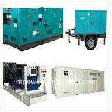 Fuel less generator set diesel power