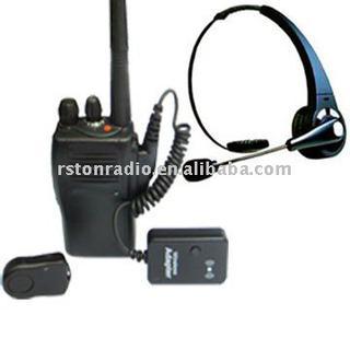 Wear Comfortable Bluetooth Two-Way Radio Headset Adapter
