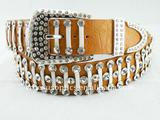 2011 ladies fashion crocodile  belt