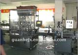 Automatic washing paste filling and capping machine