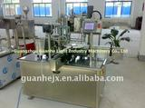 automatic 2-nozzle eyedrop filling and capping machine