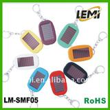 solar keychain 3 LEDs flash light