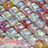[KINGHAO] Wholesale FINE GLASS Mosaic Wall Tile on Mesh JH25009