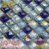 [KINGHAO] Wholesale FINE GLASS Mosaic Wall Tile on Mesh K00095