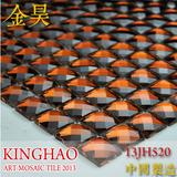 [KINGHAO] Glass mosaic tiles mirror kitchen wall tile backsplash discount bathroom shower design art decor floor cover K00045