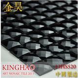 [KINGHAO] Glass mosaic tiles mirror kitchen wall tile backsplash discount bathroom shower design art decor floor cover K00044