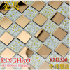 [KINGHAO] Mosaic supplies glass for kitchen backsplash tiles K00014