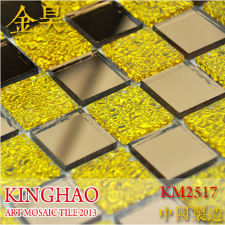 [KINGHAO] mosaic supplies glass for kitchen backsplash tiles K00013