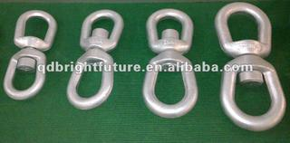 H.D.Galv. Forged swivels eye & eye G402