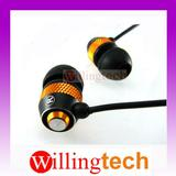 New 3.5mm in ear Earphone EARBUD Headphone for MP3 MP4 ipod golden