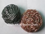 ss430/410/304 20g Stainless scourer steel&galvanized kitchen cleaning the ball