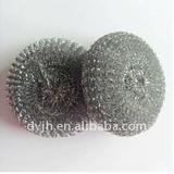 Stainless steel scourer mesh clean the ball&galvanized mesh scourer