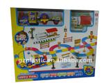 Plastic Rail Train with Decoration Sets as Gift2010B-3