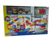 Plastic Rail Train with Decoration Sets as Gift2010B-4