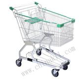 Germany style shopping trolley/supermarket cart (100L)
