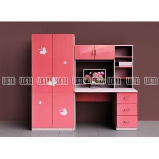Kids Bedroom Furniture Simple Style Wook Computer Desk And ...