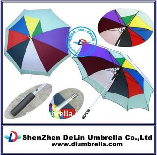 cheap golf designer rain umbrellas