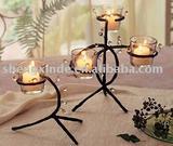 Metal  candler holder