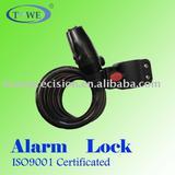 Bike Alarm Cable Lock(TK215-1)