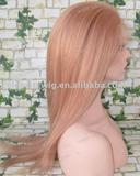 yaki straight human hair lace wig