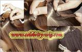100% human hair clip-in hair extension
