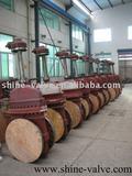Plate gate valve