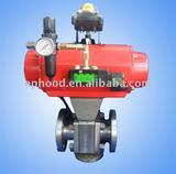 pneumatic  ball valve  alloy