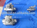 Staniless steel valves for Oil Refinery