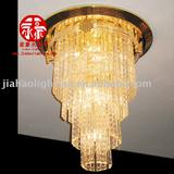 Decorating lighting crystal stair light chandelier lamps