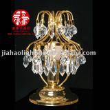 Clear crystal desk light decorative table lamp