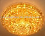 Round excellent quality crystal lights ceiling lamp