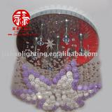 Residential decorative crystal pendant ceiling lamps