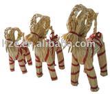 Christmas decoration (straw goat)