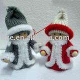 2012 Christmas tree ornaments (handmade doll)