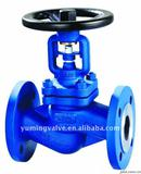 API Flange Bellows Sealed Globe Valve Dimensions /  VALVES AND FITTINGS