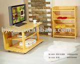 Wooden TV bench