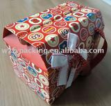 2011 hot sale house shape colorful paper food boxes