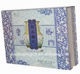 Classic Korean Spa folding box, Facial mask box, Cosmetic gift box